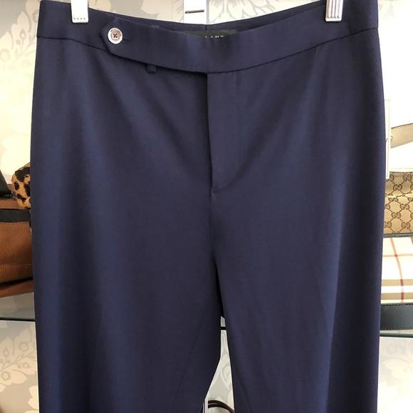 Ralph Lauren Black Label Pants - RALPH LAUREN Black Label Navy Blue Dress Pant
